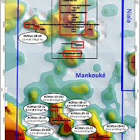 Map 1-10 000 - Mankouké - AC holes - 2019-09-25​